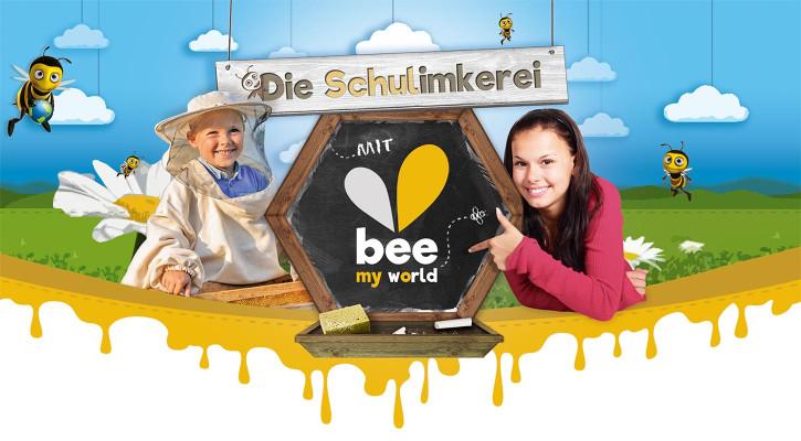bee-my-world-schulimkerei bee-my.world macht 100 Schulen zu Schulimkereien