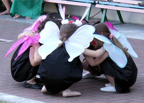Kindergarten Mit den Bienen bei den Schmetterlingen